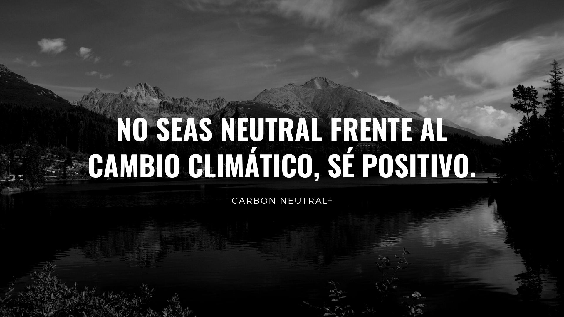 Carbono Neutral vs CARBON NEUTRAL+