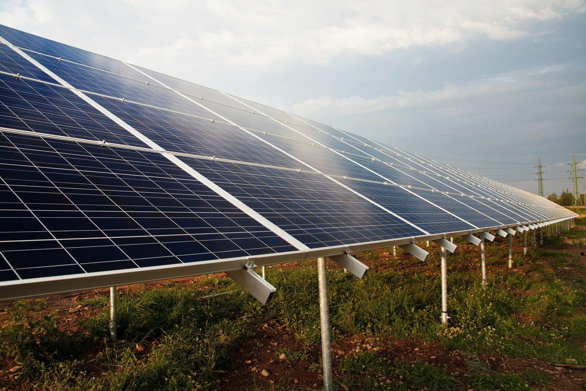 Energía solar para generación de electricidad